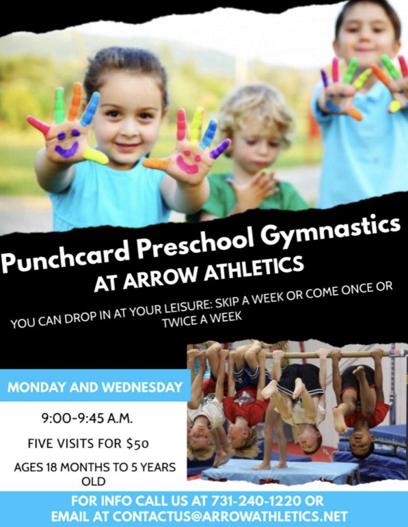 Preschool Gymnastics Jackson TN