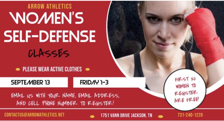 Women's Self Defense Jackson TN