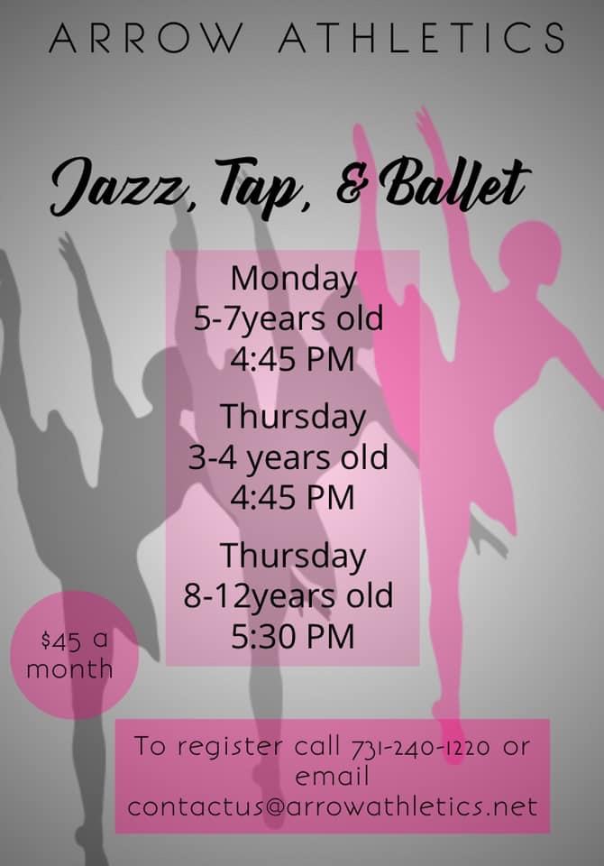 Jazz, Tap and Ballet