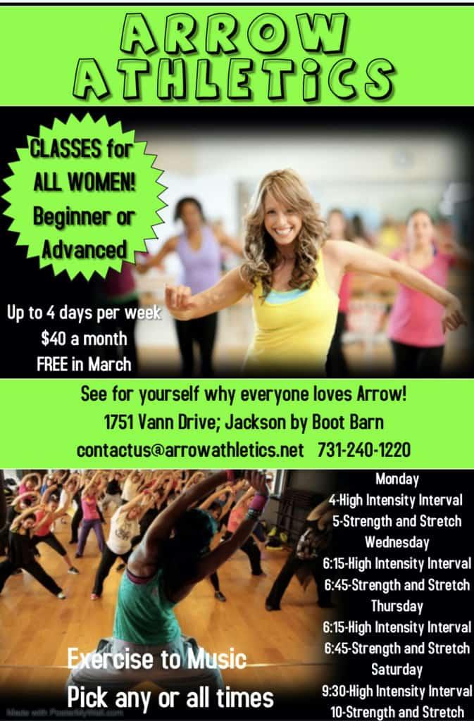 Adult Fitness Classes Jackson TN