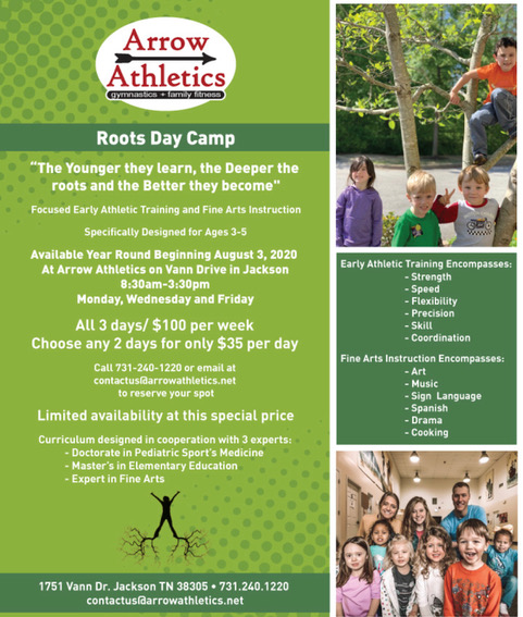 Roots Day Camp Jackson TN